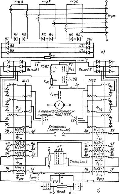 магнитного усилителя (УМ3П